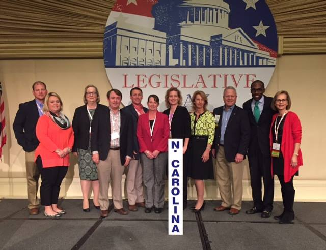 NCPMA members attending the NPMA Legislative Day in Washington, DC